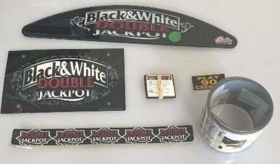 Bally S9000 Game Kit (Black & White Double Jackpot) 5 Reel w/ SW