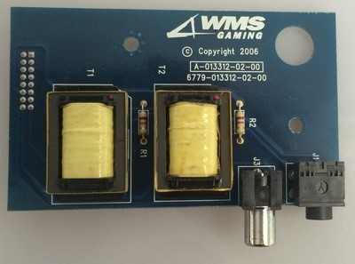 WMS BB1 Audio Amp Board (6779-013312-02-00)
