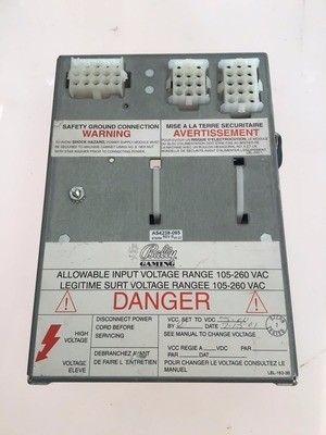 Bally S6000 Power Supply Assembly AS-4238-065