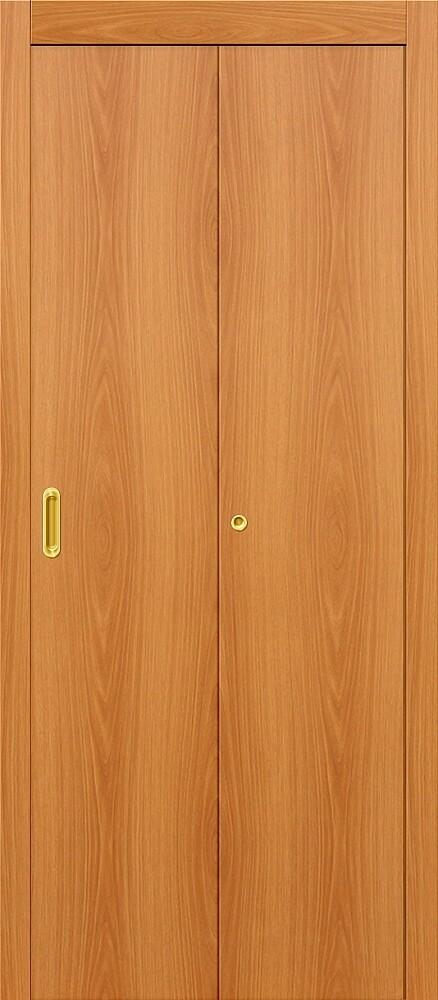 Дверь складная (книжка) межкомнатная ламинированная Гост Л-12 МиланОрех