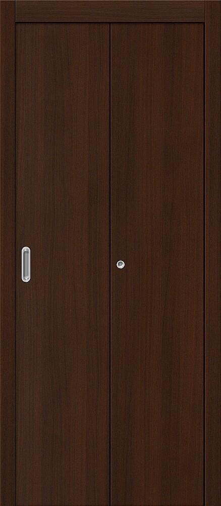 Дверь складная (книжка) межкомнатная ламинированная Гост Л-13 Венге