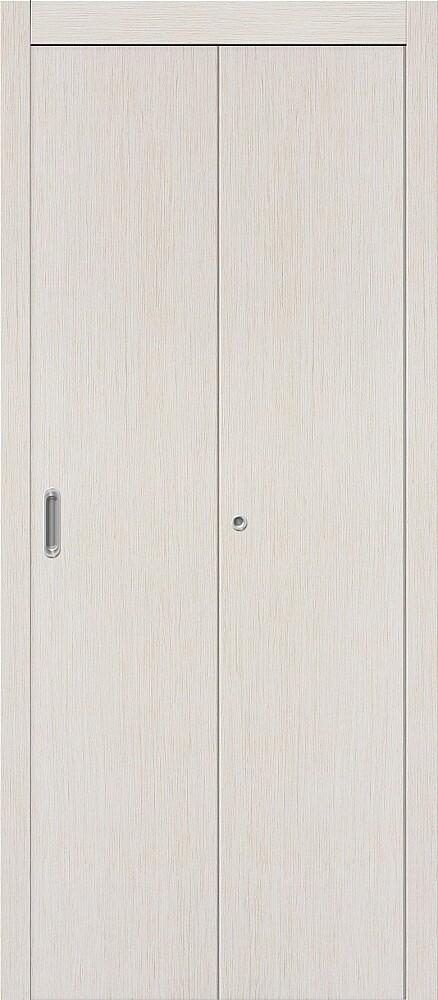 Дверь складная (книжка) межкомнатная ламинированная Гост Л-21 БелДуб