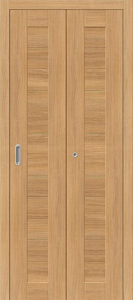 Дверь складная (книжка) межкомнатная Эко Шпон Порта-21 Anegri Veralinga