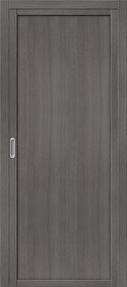 Дверь раздвижная межкомнатная Эко Шпон Твигги M1 Grey Veralinga