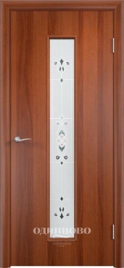 Межкомнатная ламинированная дверь Тип С-21 (х) Барокко