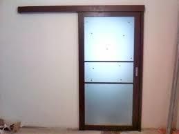 Установка раздвижной двери