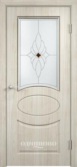 Межкомнатная дверь из скин экошпона Гера ДО ромб светлое
