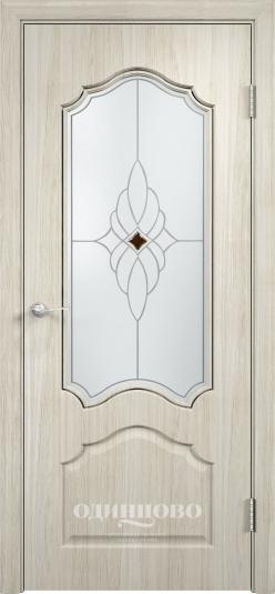 Межкомнатная дверь из скин экошпона Ирида ДО Ромб Светлое