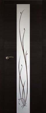 Дверное полотно Соммер 706Ш Мокко