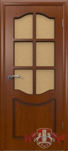 Межкомнатная дверь «Классика» 2ДР2 макоре