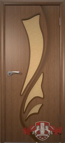 Межкомнатная дверь «Лилия» 5ДО3 орех
