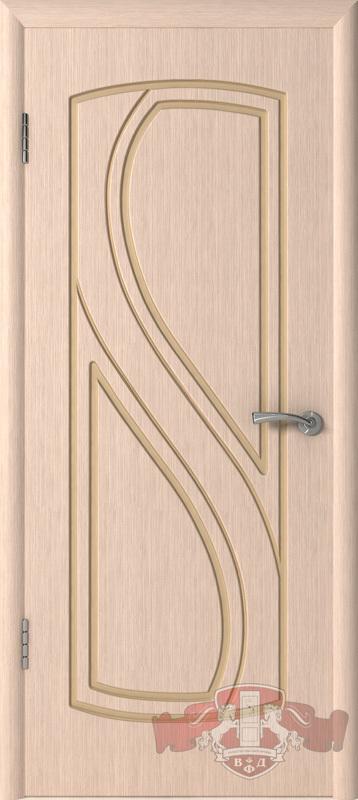 Межкомнатная дверь «Грация» 10ДГ5 беленый дуб