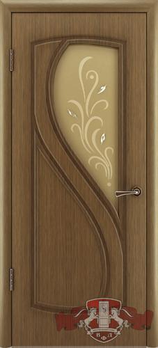 Межкомнатная дверь «Грация» 10ДО3 орех
