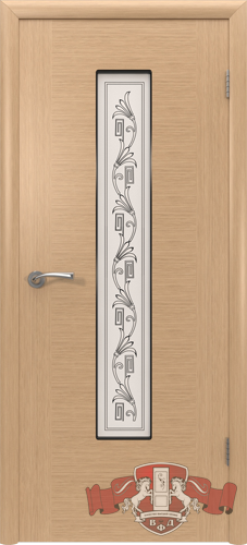 Межкомнатная дверь «Рондо» 8ДО1 светлый дуб