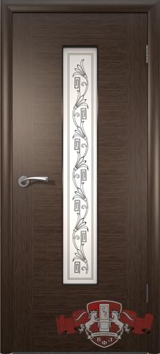 Межкомнатная дверь «Рондо» 8ДО4 венге