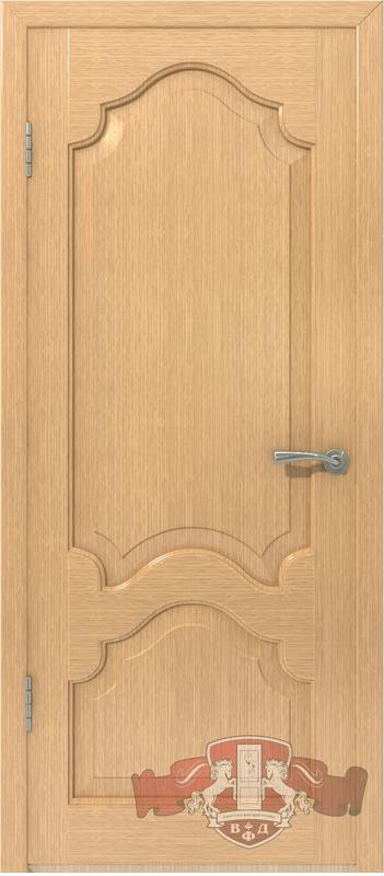 Межкомнатная дверь «Венеция» 11ДГ1 светлый дуб