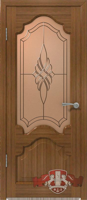 Межкомнатная дверь «Венеция» 11ДО3 орех