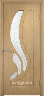 Межкомнатная дверь ПВХ Лиана ДО Сатинато