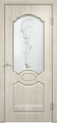 Межкомнатная дверь из скин экошпона Афина ДО ХФ Светлое