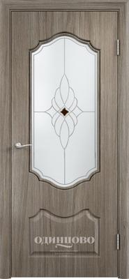 Межкомнатная дверь из скин экошпона Венера ДО Ромб Светлое