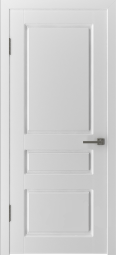 Межкомнатная дверь «Честер» 15ДГ0 белая эмаль