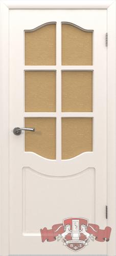 Межкомнатная дверь «Классика» 2ДР0 белая эмаль