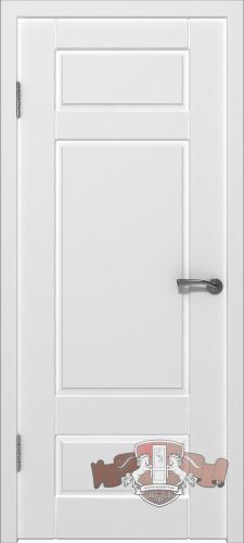 Межкомнатная дверь «Барселона» 22ДГ0 белая эмаль