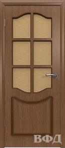Межкомнатная дверь «Классика» 2ДР3 орех
