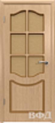 Межкомнатная дверь «Классика» 2ДР1 светлый дуб