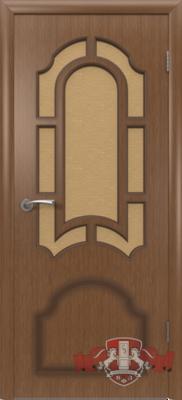 Межкомнатная дверь «Кристалл» 3ДР3 орех