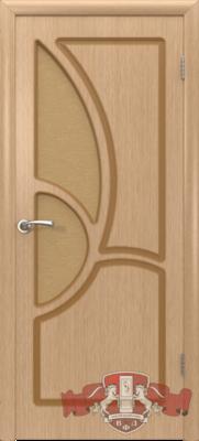 Межкомнатная дверь «Греция» 9ДО1 светлый дуб