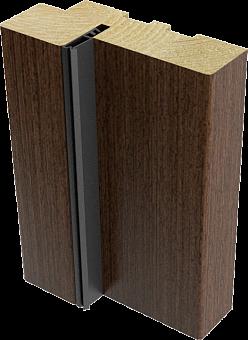 Коробка с уплотнителем 70х30х2070 (шпон)