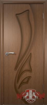 Межкомнатная дверь «Лилия» 5ДГ3 орех