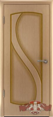 Межкомнатная дверь «Грация» 10ДГ1 светлый дуб