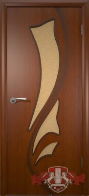Межкомнатная дверь «Лилия» 5ДО2 макоре