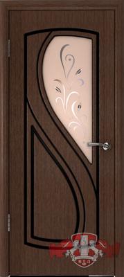 Межкомнатная дверь «Грация» 10ДО4 венге