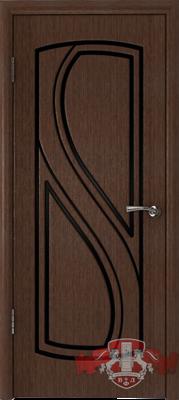 Межкомнатная дверь «Грация» 10ДГ4 венге