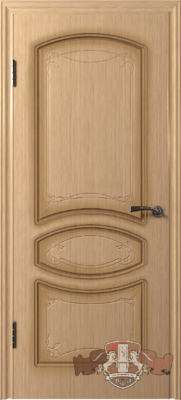 Межкомнатная дверь «Версаль» 13ДГ1 светлый дуб