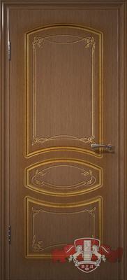 Межкомнатная дверь «Версаль» 13ДГ3 орех