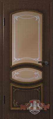Межкомнатная дверь «Версаль» 13ДР4 венге