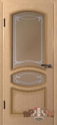 Межкомнатная дверь «Версаль» 13ДР1 светлый дуб