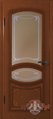 Межкомнатная дверь «Версаль» 13ДР2 макоре