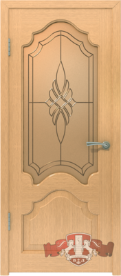 Межкомнатная дверь «Венеция» 11ДО1 светлый дуб