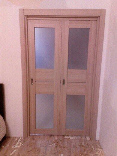"""Чебоксарская фабрика дверей.Дверь-книжка """"Модель 21К"""".Стоимость 21000.Стоимость установки 2000."""
