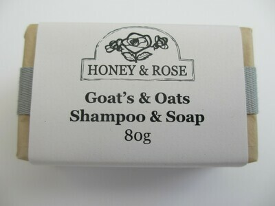 Goat's Milk and Oats Shampoo Soap (bar) 80g