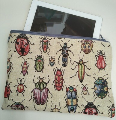 Insect Lovers Large Cosmetics Bag