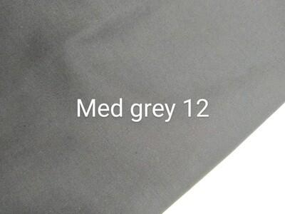 Grey 12 Polycotton Triple Layered Face Masks