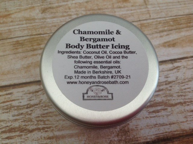 Chamomile & Bergamot Body Butter Icing 75ml