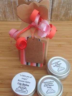 Body Butters and Lip Balm Gift Set