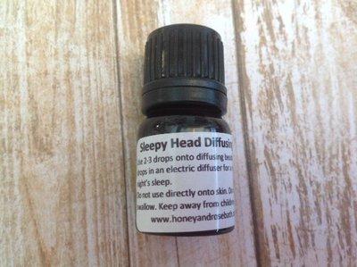Sleepy Head Diffusing Essential Oil Blend 2.5ml- 100ml
